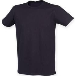 vaatteet Miehet Lyhythihainen t-paita Skinni Fit SF121 Navy