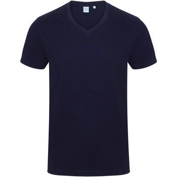 vaatteet Miehet Lyhythihainen t-paita Skinni Fit SF122 Navy