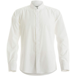 vaatteet Miehet Pitkähihainen paitapusero Kustom Kit KK161 White