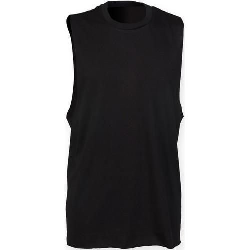 vaatteet Miehet Hihattomat paidat / Hihattomat t-paidat Skinni Fit SF232 Black