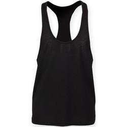 vaatteet Miehet Hihattomat paidat / Hihattomat t-paidat Skinni Fit SF236 Black