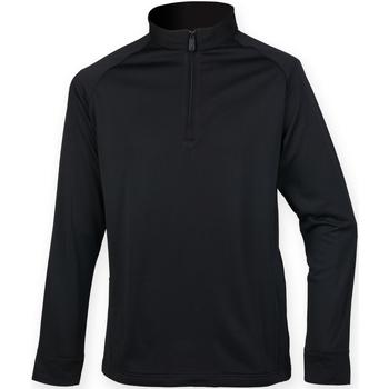 vaatteet Miehet Fleecet Henbury HB862 Black