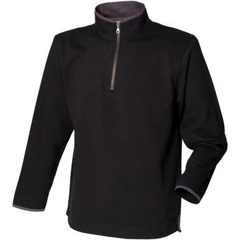 vaatteet Miehet Fleecet Front Row Soft Touch Black