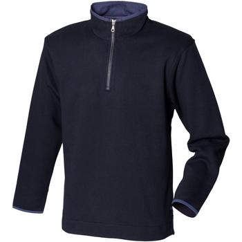 vaatteet Miehet Fleecet Front Row Soft Touch Navy