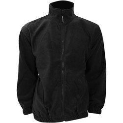 vaatteet Miehet Fleecet Grizzly KK903 Black