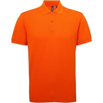 vaatteet Miehet Lyhythihainen poolopaita Asquith & Fox AQ015 Orange