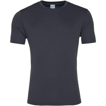 vaatteet Miehet Lyhythihainen t-paita Awdis JC020 Charcoal