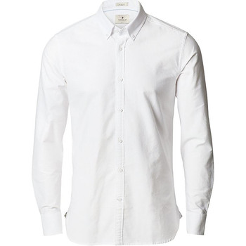 vaatteet Miehet Pitkähihainen paitapusero Nimbus NB66 White