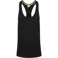 vaatteet Miehet Hihattomat paidat / Hihattomat t-paidat Tombo TL504 Black