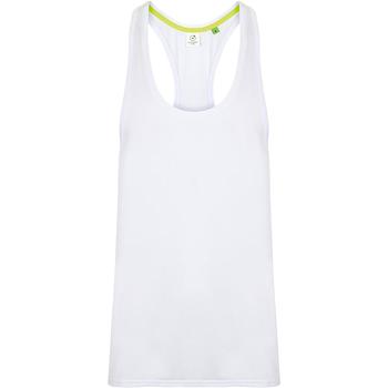 vaatteet Miehet Hihattomat paidat / Hihattomat t-paidat Tombo TL504 White