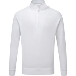 vaatteet Miehet Neulepusero Russell 1/4 Zip White