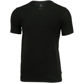 vaatteet Miehet Lyhythihainen t-paita Nimbus NB73M Black
