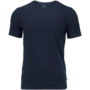 vaatteet Miehet Lyhythihainen t-paita Nimbus NB73M Navy