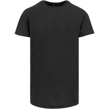vaatteet Miehet Lyhythihainen t-paita Build Your Brand Shaped Black