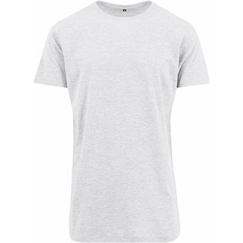 vaatteet Miehet Lyhythihainen t-paita Build Your Brand Shaped White