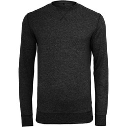 vaatteet Miehet Neulepusero Build Your Brand BY010 Black