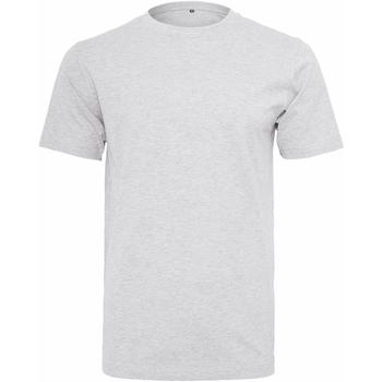 vaatteet Miehet Lyhythihainen t-paita Build Your Brand Round Neck White