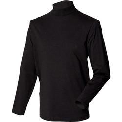 vaatteet Miehet Neulepusero Henbury HB020 Black