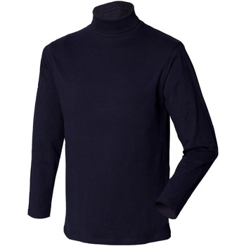 vaatteet Miehet Neulepusero Henbury HB020 Navy