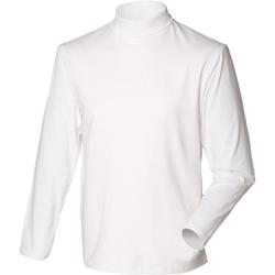 vaatteet Miehet Neulepusero Henbury HB020 White
