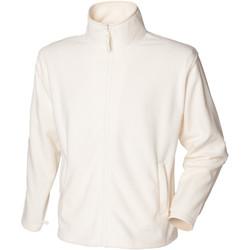 vaatteet Miehet Fleecet Henbury  Cream