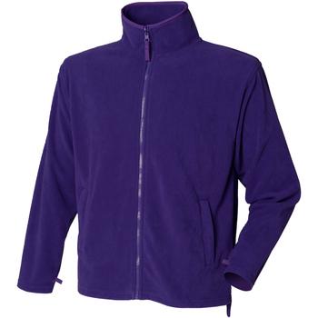 vaatteet Miehet Fleecet Henbury  Purple