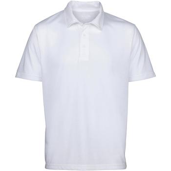 vaatteet Miehet Lyhythihainen poolopaita Awdis Sublimation White