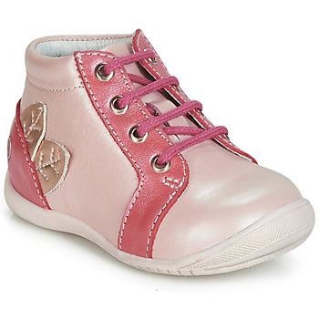 kengät Tytöt Korkeavartiset tennarit GBB FRANCKIE Pink
