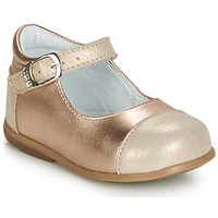 kengät Tytöt Balleriinat GBB BELISTO Pink / Kulta