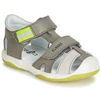 kengät Pojat Sandaalit ja avokkaat GBB BERTO Grey