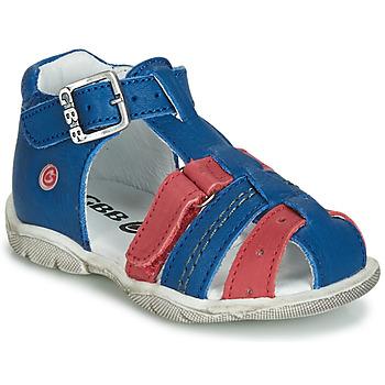 kengät Pojat Sandaalit ja avokkaat GBB ARIGO Blue / Red