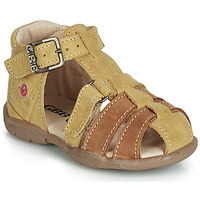 kengät Pojat Sandaalit ja avokkaat GBB PRIGENT Sinappi