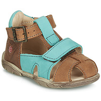 kengät Pojat Sandaalit ja avokkaat GBB SEROLO Brown