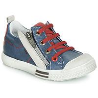 kengät Pojat Matalavartiset tennarit GBB STELLIO Blue / Red