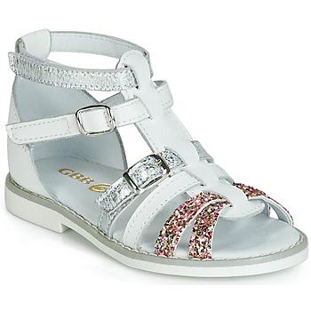 kengät Tytöt Sandaalit ja avokkaat GBB MONELA White