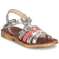 kengät Tytöt Sandaalit ja avokkaat GBB BANGKOK Hopea / Pink