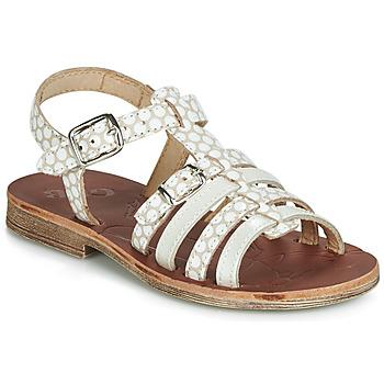 kengät Tytöt Sandaalit ja avokkaat GBB BANGKOK Beige / White