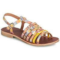 kengät Tytöt Sandaalit ja avokkaat GBB BANGKOK Monivärinen / Yellow
