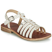 kengät Tytöt Sandaalit ja avokkaat GBB BANGKOK White / Beige