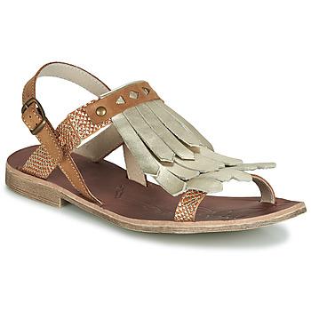kengät Tytöt Sandaalit ja avokkaat GBB ACARO Brown / Kulta