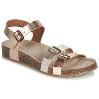 kengät Tytöt Sandaalit ja avokkaat GBB BIGA Pink / Kulta / Kulta
