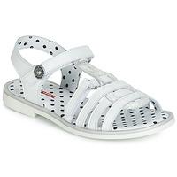 kengät Tytöt Sandaalit ja avokkaat Catimini MUNDA White