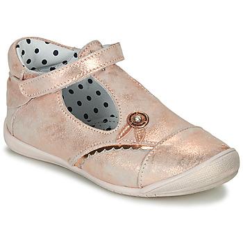 kengät Tytöt Balleriinat Catimini SANTA Pink / Kulta
