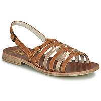 kengät Tytöt Sandaalit ja avokkaat Catimini NOBO Cognac / Kulta