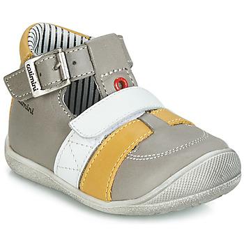 kengät Pojat Sandaalit ja avokkaat Catimini TIMOR Grey / Sinappi