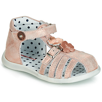 kengät Tytöt Sandaalit ja avokkaat Catimini VANUA Vaaleanpunainen / Kulta
