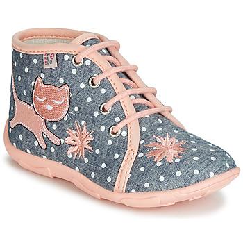 kengät Tytöt Tossut GBB MERMIDA Grey / Pink