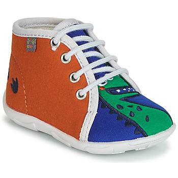 kengät Pojat Tossut GBB MARCCO Orange / Blue