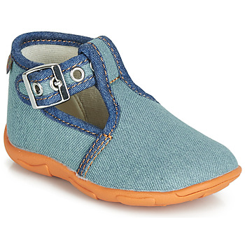 kengät Pojat Tossut GBB SAPPO Blue / Farkku