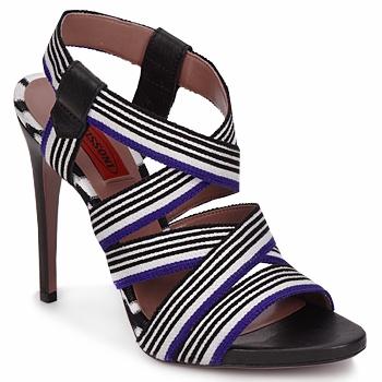kengät Naiset Sandaalit ja avokkaat Missoni RM19 Sininen / Valkoinen